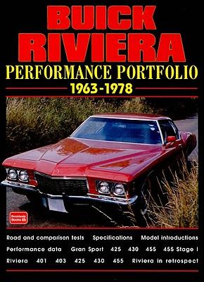 Buick Riviera 1963-78 Performance Portfolio By Clarke, R. M. (EDT)